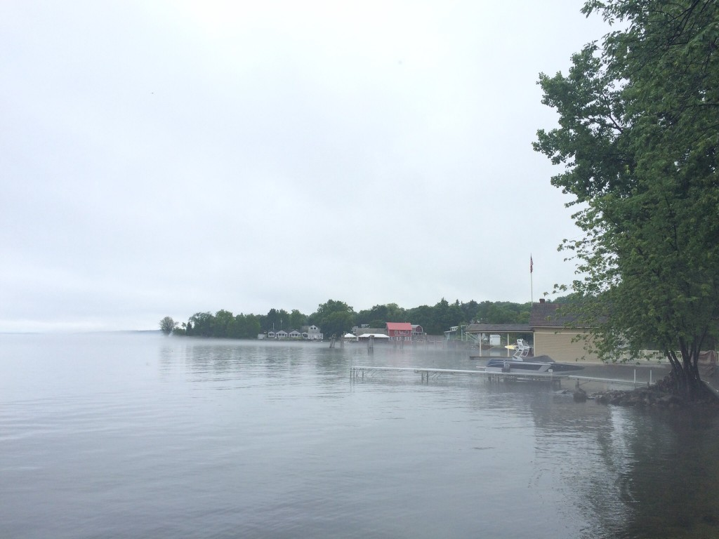 Lake Champlain is Rising Up, Up, Up