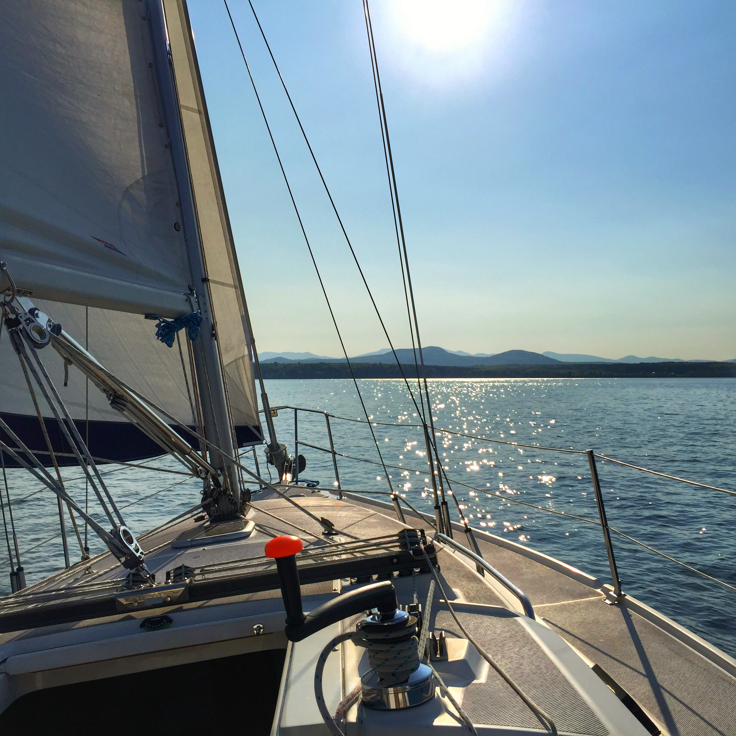 Happy hour sail aboard Errant on May 23, 2016