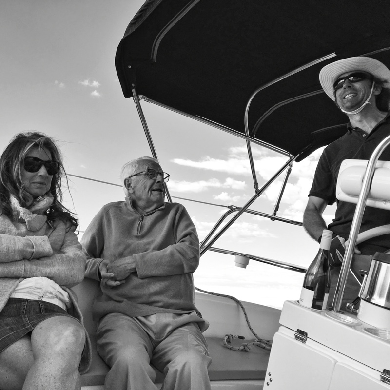Sailing Errant with Miriam and John on June 3, 2016